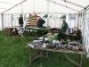 Club stand at Raby Castle Country Show, 10/07/2011.