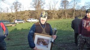 Congratulations to Richard Wharton, high gun for Newcastle Wildfowlers