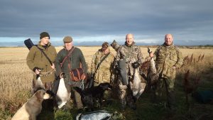 Members who shot their first goose.