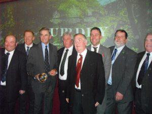 Colin Teago, Adam Henson, Richard Purdey, Kenn Ball, George Ashcroft, Garreth Docherty, John Watson, Eric Bramley